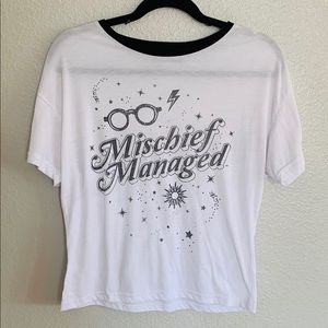 Harry Potter Mischief managed tee shirt